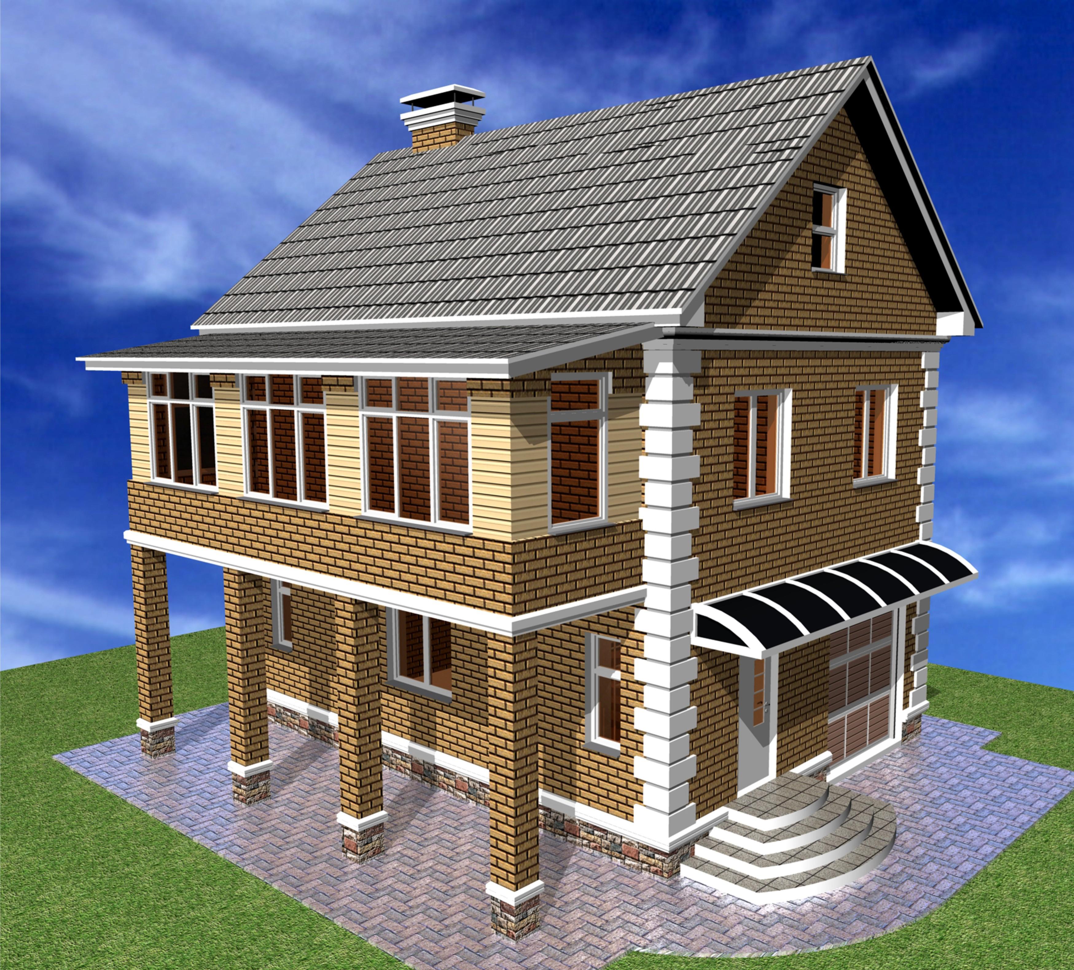 Проект одноэтажного дома проект