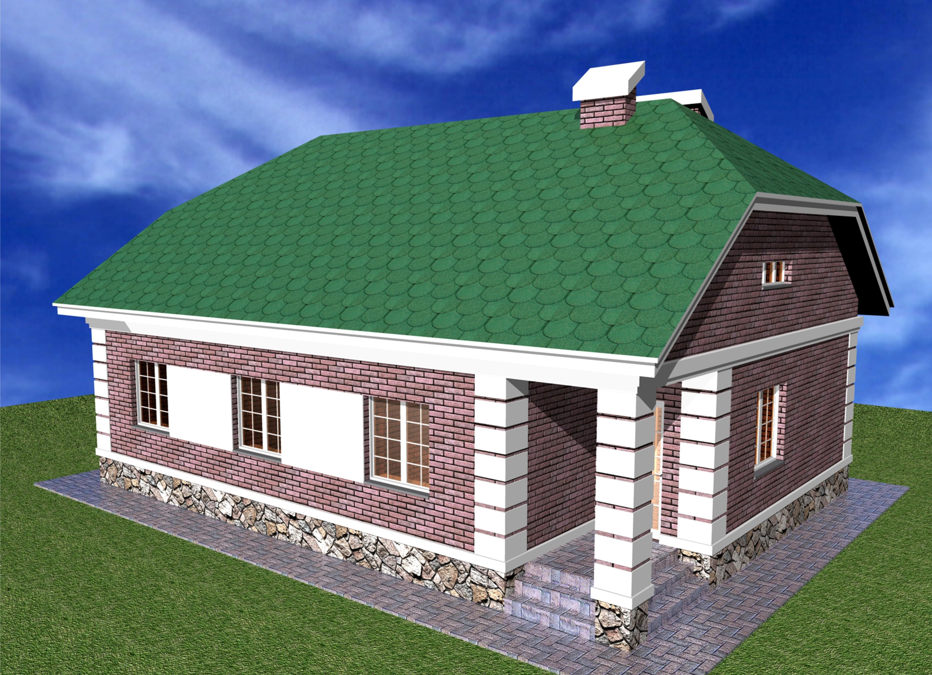Одноэтажного дома типовой проект дома